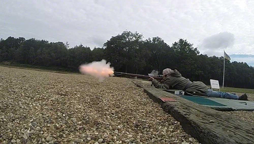Gerry's Enfield firing.