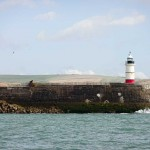 Watchful Newhaven harbour arm