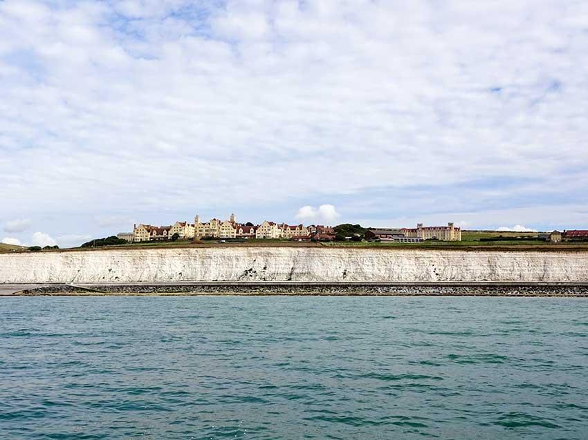 Watchful cliffs Roedean