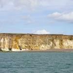 Watchful cliffs W Beach Newhaven