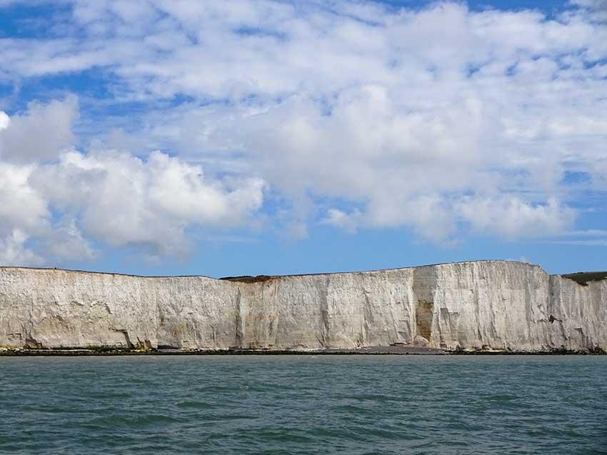 Watchful cliffs after Belle Tout