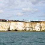 Watchful cliffs after Newhaven W Beach