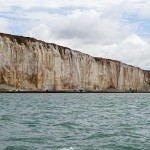 Watchful cliffs after Seaford Head