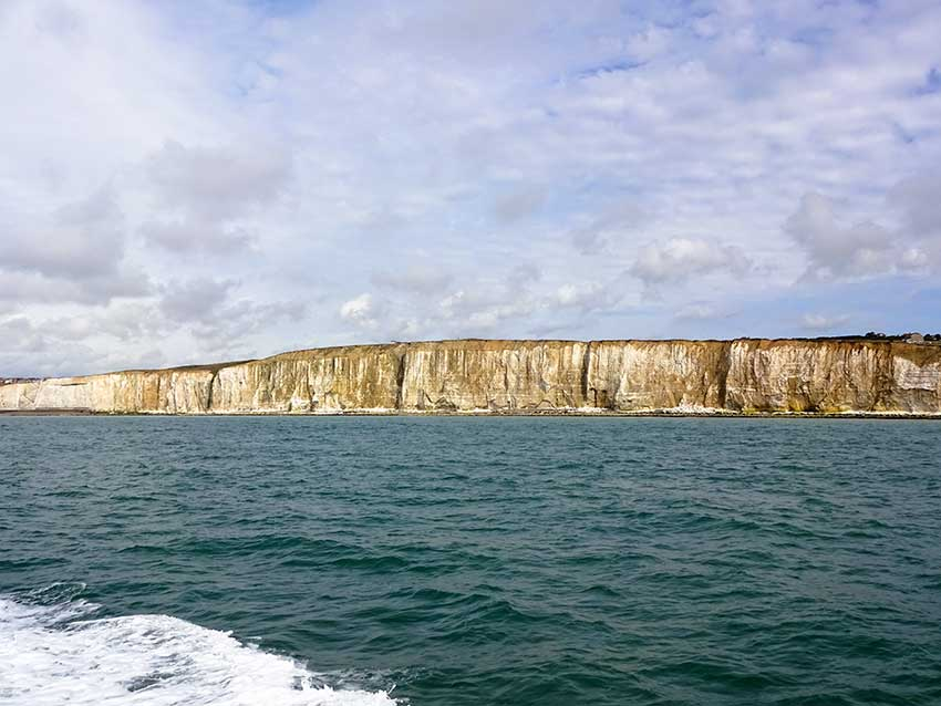 Watchful cliffs end PeaceHaven