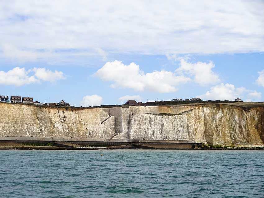 Watchful cliffs end Peace Haven