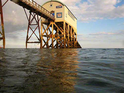Selsey Life Boat Station view SSE
