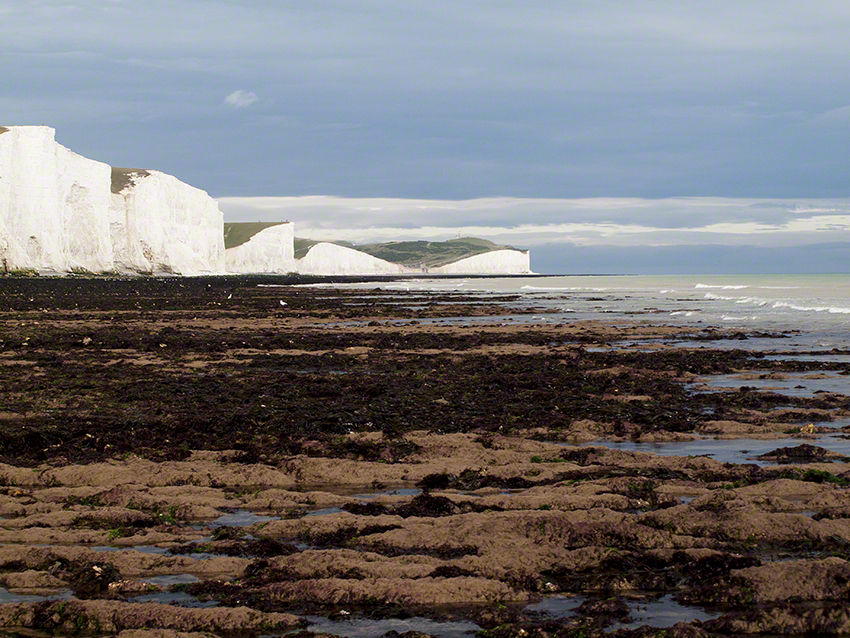 View from Cuckmere Haven to Beachy Head