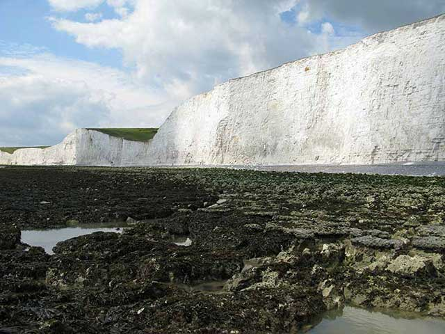 Birling Gap, view west